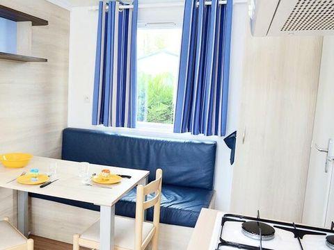 MOBILHOME 8 personnes - Confort 4 Pièces + TV