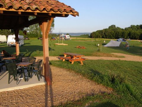 Camping Aire Naturelle TerreFerme - Camping Saone-et-Loire