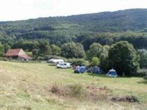 Camping à la ferme Les Grands Champs - Camping Saone-et-Loire