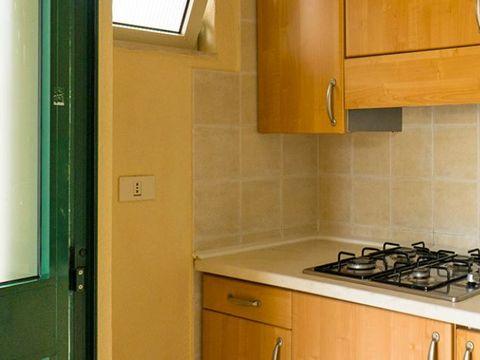 BUNGALOW 4 personnes - DIAMANTE 2 pièces - ZONE MER - cuisine externe