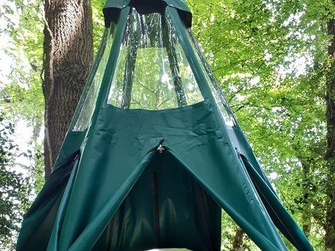 TENTE 2 personnes - Tente suspendue (sans sanitaires, sans cuisine)