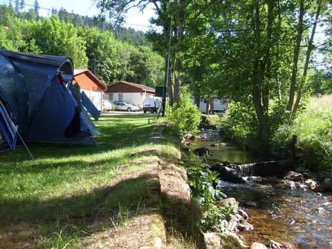 Camping A l'eau Vive - Camping Vosges