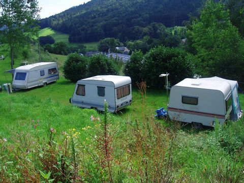 Camping à le ferme Les Bouleaux - Camping Haut-Rhin - Image N°2