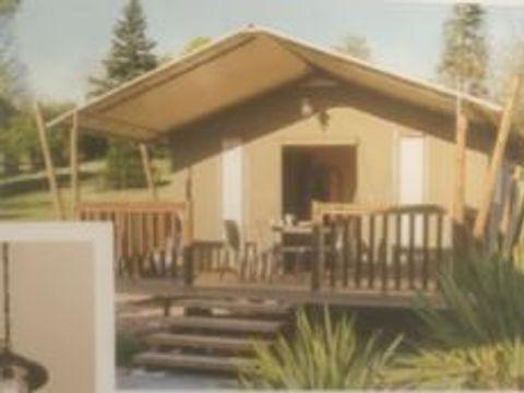 TENTE 4 personnes - Lodge (sans sanitaires)