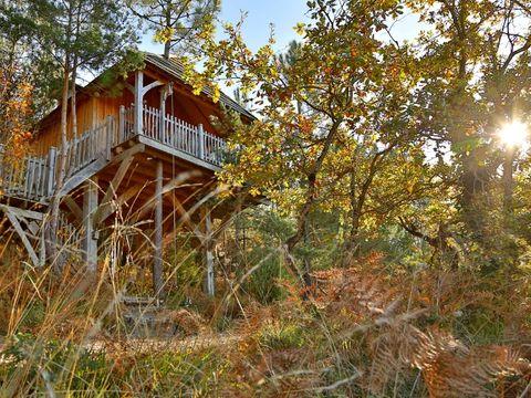 les cabanes de vaure - Camping Dordogne - Image N°3