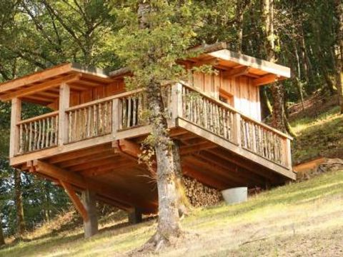 les cabanes de la guinguette - Camping Puy-de-Dome - Image N°3
