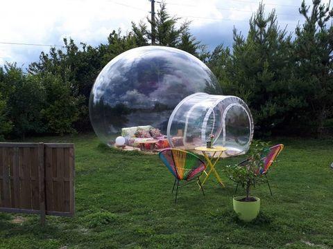 bulle et dome des champs - Camping Essonne - Image N°2