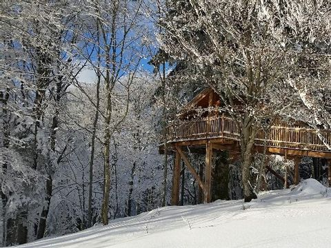 cabanes de belfahy - Camping Haute-Saone