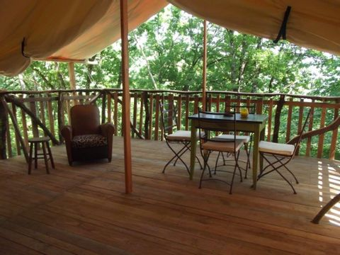 Camping Glamping Terre-Rouge - Camping Aveyron - Image N°2