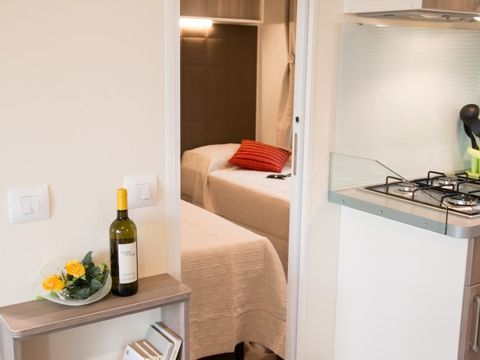 MOBILHOME 7 personnes - DELUXE