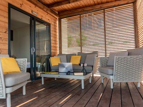 VILLA 4 personnes - Eco Luxury 2 chambres avec terrasse et vue mer