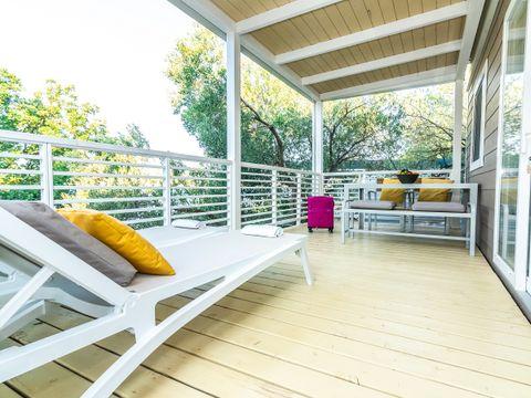VILLA 5 personnes - Superior 2 chambres avec terrasse et vue mer