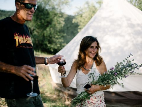 Camping The Lazy Olive Glamping - Camping Pise - Image N°10