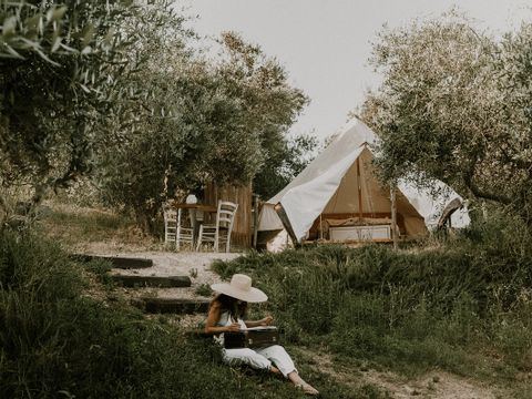 Camping The Lazy Olive Glamping - Camping Pise - Image N°8