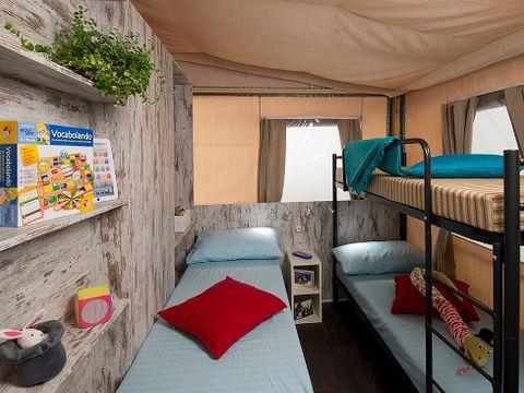 TENTE TOILE ET BOIS 5 personnes - Lodge Tent