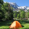 Camping aire naturelle De La Meije