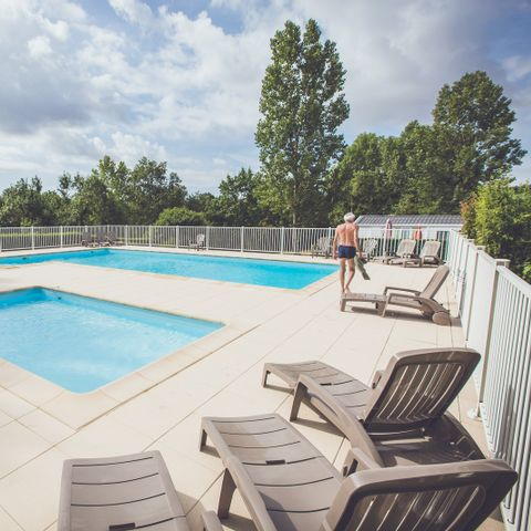 Camping Les Rioms - Camping Indre-et-Loire
