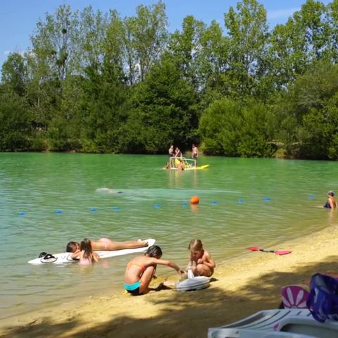 Camping le Chene du lac  - Camping Gironde