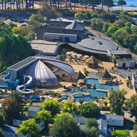 Camping Sunelia Escale Saint Gilles  - Camping Finistere