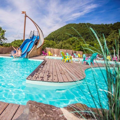 Camping Pommeraie - Camping Cantal