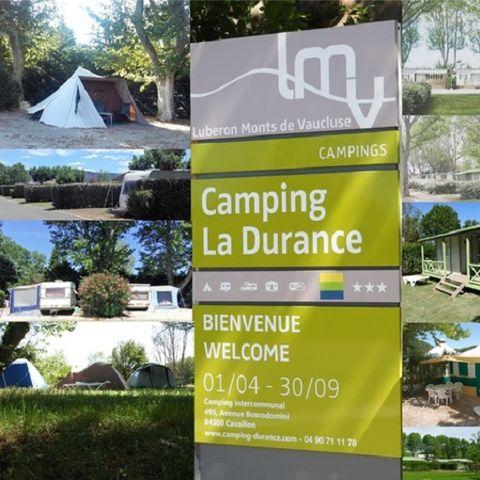 Camping Intercommunal de la Durance - Camping Vaucluse