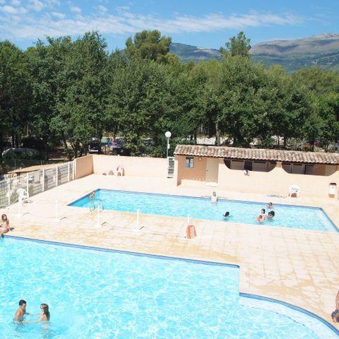 Camping Domaine de la Bergerie - Camping Alpes-Maritimes