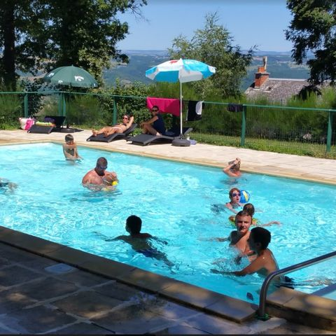 Camping Pole Touristique Bellevue - Camping Aveyron