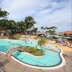 Camping Plage sud  - Camping Landes