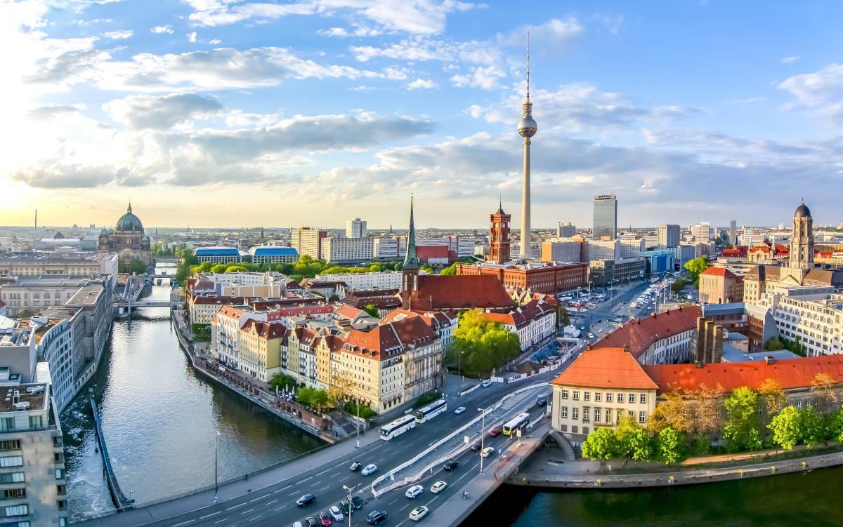 Berlijn in Duitsland