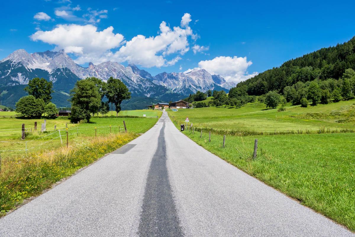 Saalfelden-Oostenrijk