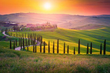 Kamperen-Toscane-Italie
