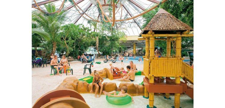 Camping met overdekt zwembad