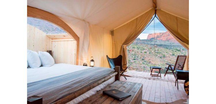 vijf sterren camping
