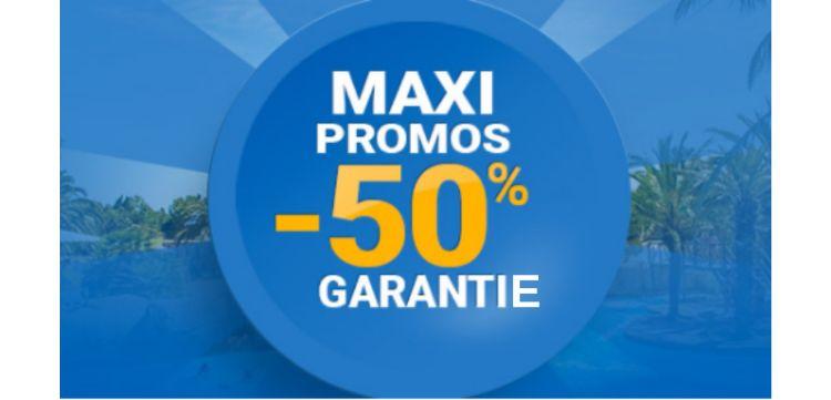 Maxi-promoties voor uw vakantie
