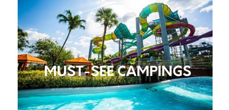 Niet te missen camping spots